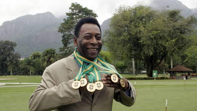 Brasiliens lebende Legende Pele soll an Depressionen leiden