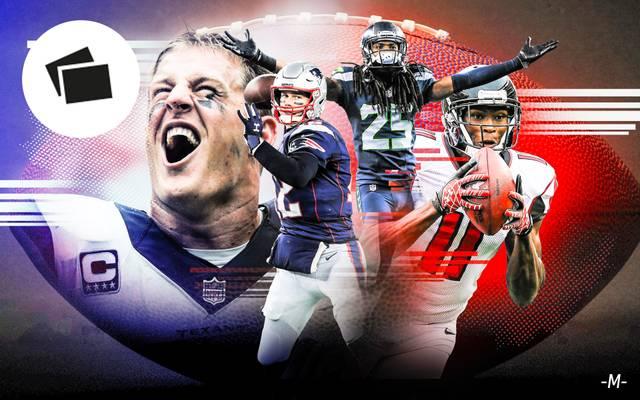 Das NFL-Team der 10-er Jahre zum Durchklicken