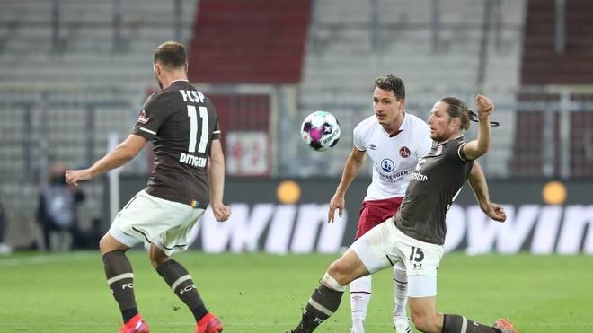 Georg Margreitter und der 1. FC Nürnberg warten weiter auf den ersten Saisonsieg