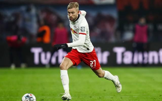 Konrad Laimer ist für RB Leipzig ein wichtiger Spieler im Kampf um die Meisterschaft