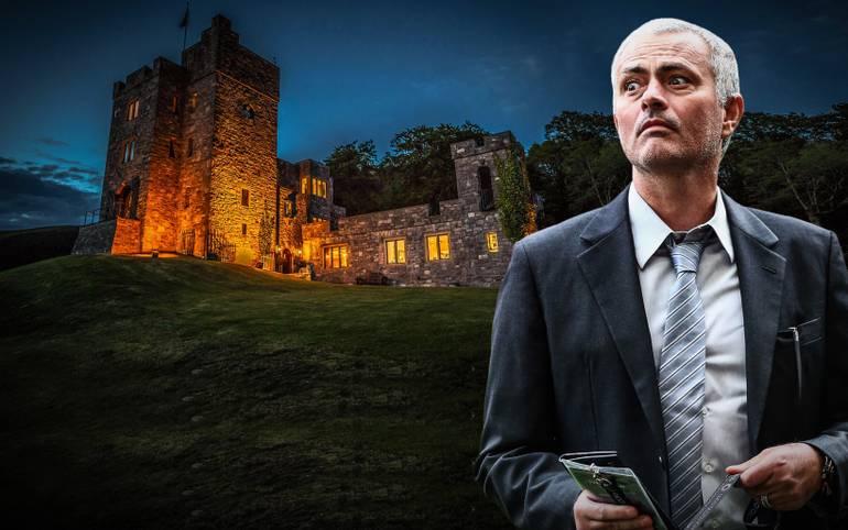 Jose Mourinho ist neuer United-Trainer und sucht eine Bleibe. Dem portugiesischen Exzentriker soll es eine Burg in Wales angetan haben. SPORT1 zeigt die Bilder