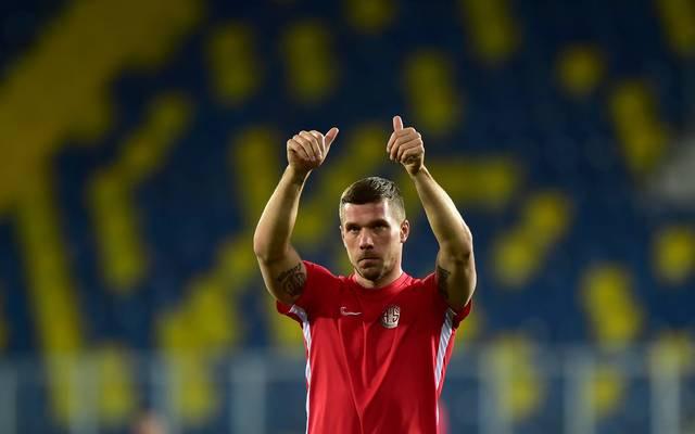 Lukas Podolski geht seit Anfang 2020 für  Antalyaspor auf Torjagd