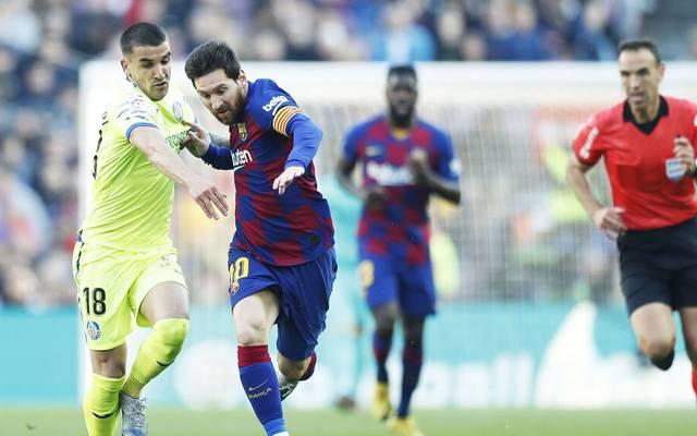 Der FC Getafe ändert gegen Barcelona seinen Namen