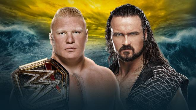 Brock Lesnar trifft bei WWE WrestleMania 36 auf Drew McIntyre