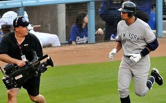 Alex Rodriguez (New York Yankees): Der dreifache MVP ist der bekannteste und mit einem Jahresgehalt von 32 Millionen Dollar der reichste Spieler aller Zeiten. Der Third Baseman liegt mit 629 Homeruns in der All-Time-Bestenliste der MLB auf Rang sechs und