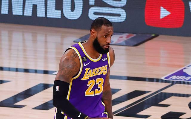LeBron James greift mit den Lakers nach dem Titel