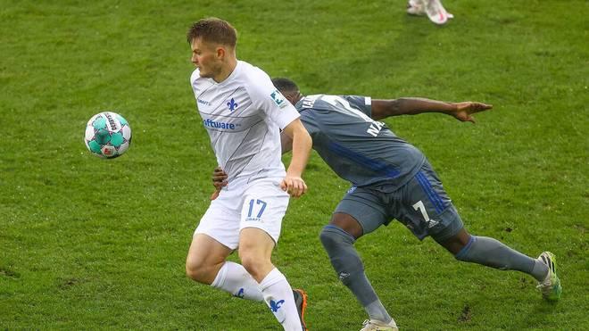 Lars Lukas Mai hat sich in der ersten Elf vom SV Darmstadt 98 festgespielt