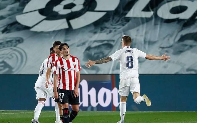 Toni Kroos steuerte zum Sieg von Real Madrid ein Tor bei