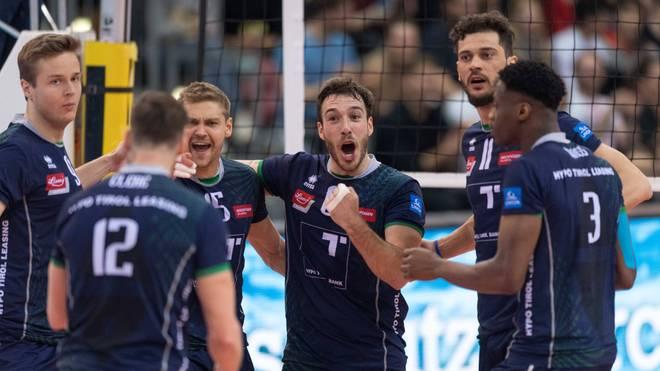 In Unterhaching wird weiter Volleyball-Bundesliga gespielt