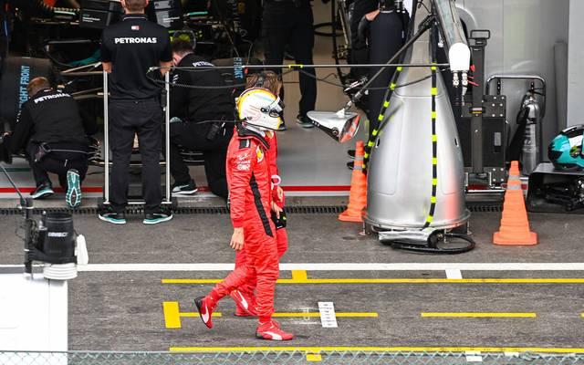 Sebastian Vettel startet nur von Rang 14 ins Rennen von Spa