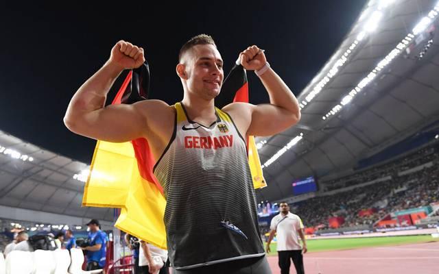 Bei der WM 2019 in Doha holte Vetter die Bronzemedaille