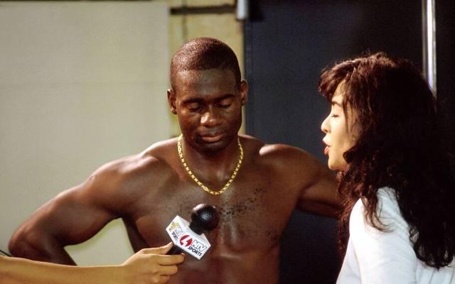 Ben Johnson bei der WM 1991 in Tokio