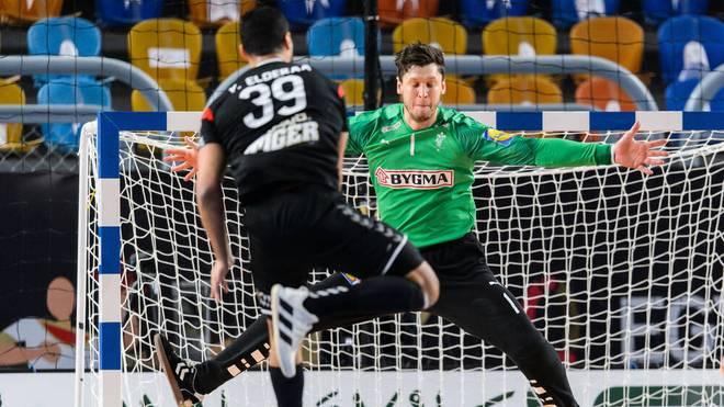 Dänemark-Keeper Niklas Landin wurde zum Matchwinner beim WM-Thriller gegen Ägypten