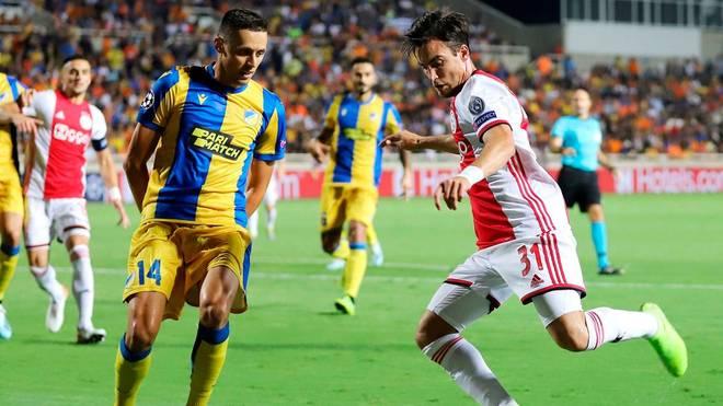 Ajax Amsterdam kämpft im Playoff-Rückspiel gegen APOEL Nikosia um den Einzug in die Gruppenphase der Champions League