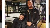 Tweet von Anthony Joshua mit Drake