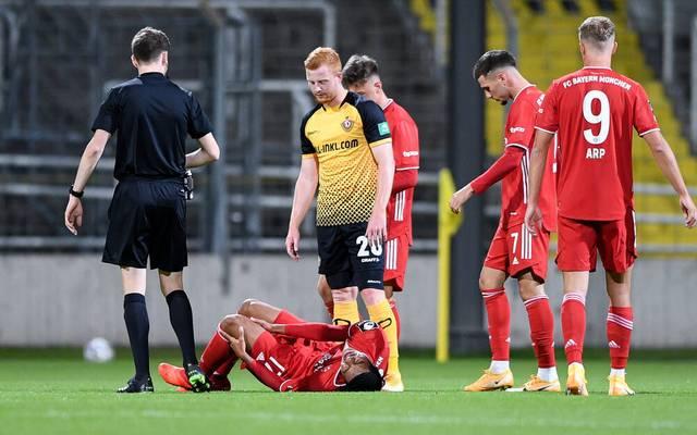 Im Spiel gegen Dynamo Dresden zog sich Malik Tillmann einen Kreuzbandriss zu