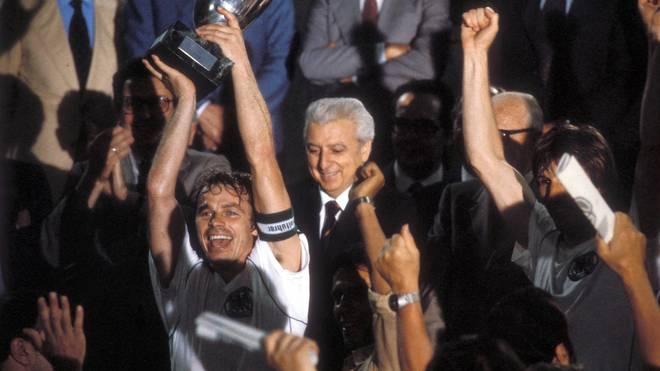 Bernard Dietz war 1980 Kapitän der deutschen Nationalmannschaft