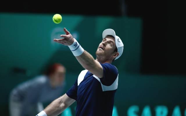 Andy Murray stand kurz vor dem Karriereende