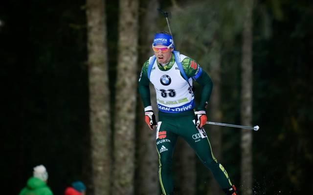 Simon Schempp wird beim Biathlon-Weltcup dabei sein