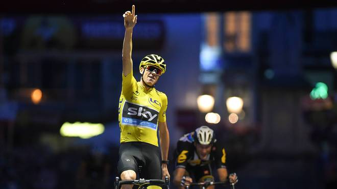 Chris Froome durfte viermal bei der Tour de France jubeln