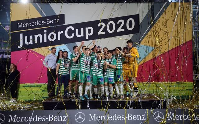 2020 konnte Rapid Wien den JuniorCup gewinnen