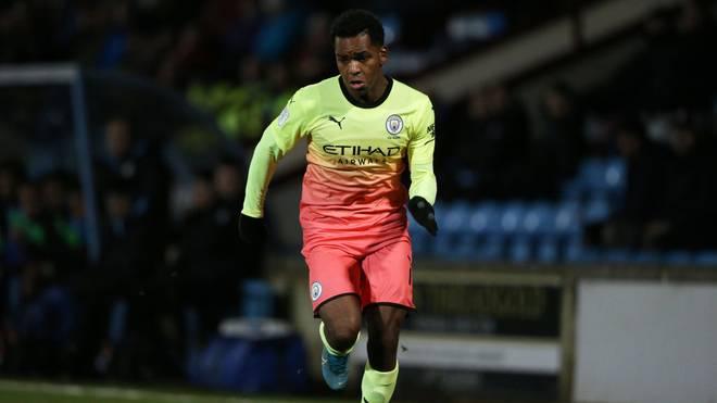Jayden Braaf wartet noch auf sein Profidebüt für Manchester City