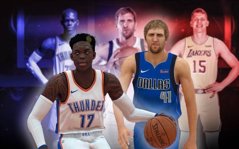 Die NBA-Saison steht in den Startlöchern. In diesem Jahr mischen mit Nowitzki, Schröder, Kleber und Co. gleich mehrere Deutsche mit. Doch wie sehen die virtuellen Abbilder in der Simulation NBA2K19 aus?