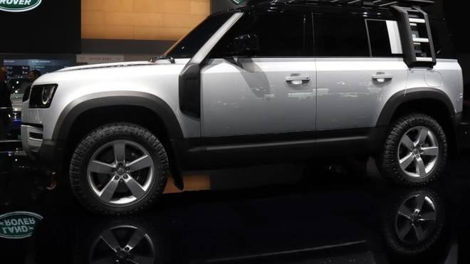 Neuauflage einer Gelände-Legende: Der neue Land Rover Defender ist einer der IAA-Stars
