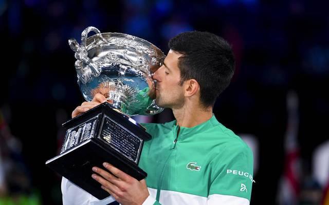 Novak Djokovic erteilte Daniil Medvedev eine Lehrstunde