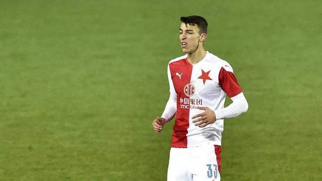 Petar Musa spielt bei Slavia Prag