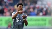 Serge Gnabry spielt seine erste Saison beim FC Bayern