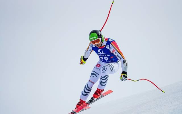 Andreas Sander erreicht in Val d'Isere den siebten Rang