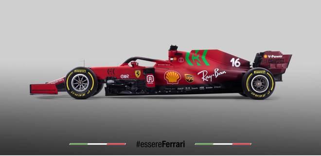 Der neue SF21 ist einmal mehr in klassischem Rot gehalten
