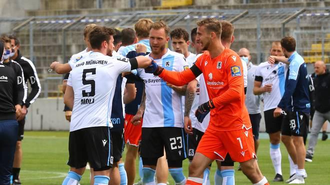 1860 München ist jetzt seit 15 Spielen ungeschlagen