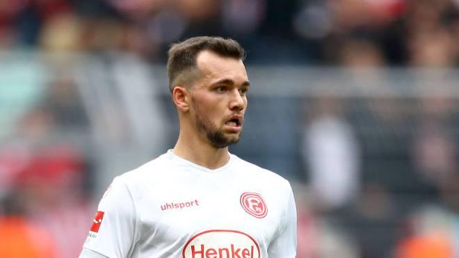 Kevin Stöger verließ Fortuna Düsseldorf nach dem Abstieg