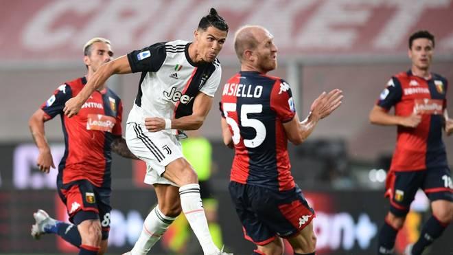 Cristiano Ronaldo zeigte bei seinem Gewaltschuss keine Gnade