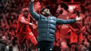 Nach dem 13. Spieltag grüßt Jürgen Klopp mit dem FC Liverpool ungeschlagen von der Tabellenspitze der Premier League