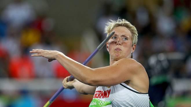Christina Obergföll war 2013 Weltmeisterin im Speerwurf