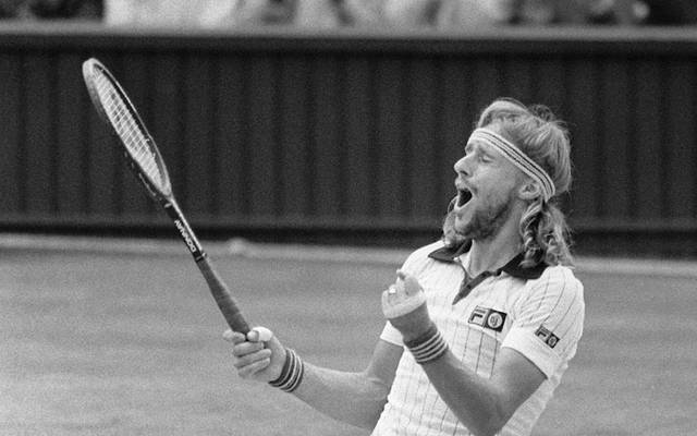 Björn Borg sank nach dem historischen Wimbledon-Endspiel zu Boden