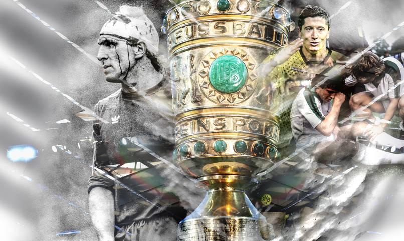 Titel, Tränen und Triumphe: Der DFB-Pokal liefert reichlich Stoff für Erfolgsgeschichten und  persönliche Schicksale. Auch bei Bayern gegen Leipzig? Als Einstimmung blickt SPORT1 zurück auf die zehn legendärsten Endspiele