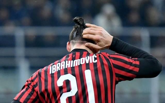 Zlatan Ibrahimovic hat noch einen Vertrag bei Milan bis zum Saisonende