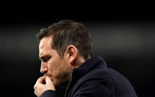 Frank Lampard wurde im Januar bei Chelsea entlassen