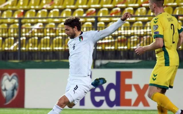 Italien gewann 2:0 gegen Litauen in der WM-Quali