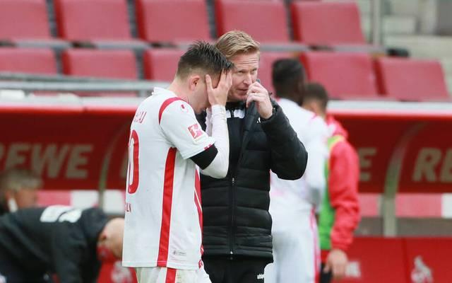 Markus Gisdol und der 1. FC Köln haben seit 13 Spielen nicht mehr gewonnen