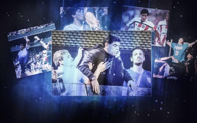 Die Karriere des Diego Armano Maradona