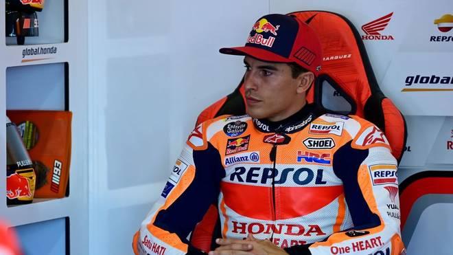 Marc Márquez zog sich den Oberarmbruch im ersten Rennen zu
