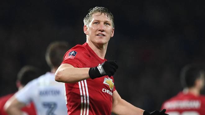 Bastian Schweinsteiger blieb zwei Jahre bei Manchester United.