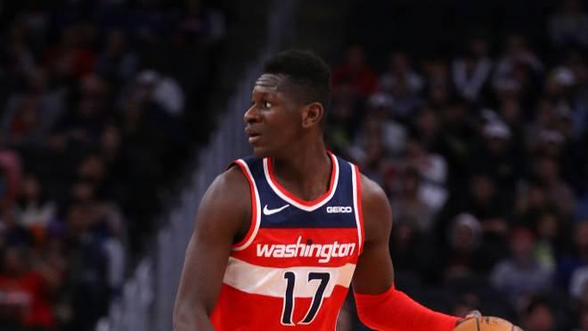 Isaac Bonga von den Washington Wizards gefällt es in seiner neuen Heimat