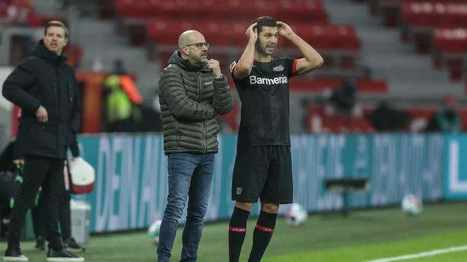 Peter Bosz ist mit Leverkusen seit drei Spielen sieglos