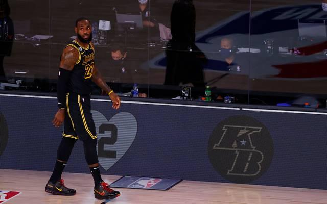 LeBron James und die Los Angeles Lakers gedachten einmal mehr Kobe Bryant